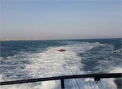 نجات صیادان گرفتار در طوفان دریای عمان