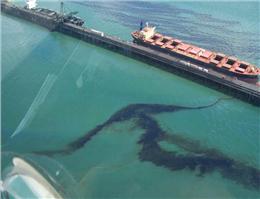 تهدید محیط زیست دریایی هرمزگان با آلودگی های نفتی