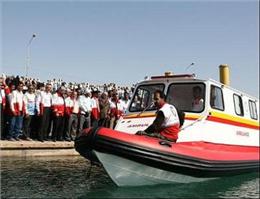 فعالیت دو دستگاه آمبولانس دریایی در قشم