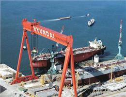 سفارشاتِ کشتی سازی هیوندای افت کرد
