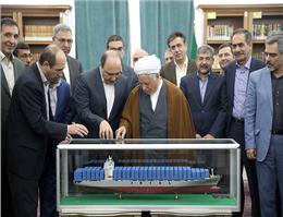 دیدار مدیر عامل کشتیرانی و هیئت همراه با رئیس مجمع تشخیص مصلحت نظام