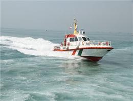 امدادرسانی به خدمه کشتی کانتینری در عسلویه
