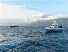 نقض حریم دریایی ترکیه توسط یونان