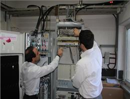 راه اندازی سامانه GSM در بندر امام