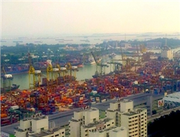 Singapore Container Volumes Rise 7.5% in April