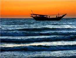 آرامش نسبی در آّبهای شمال غرب خلیج فارس