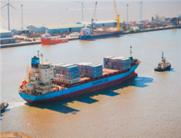 Maersk Introduces New Box-ship to Its Feeder Service Fleet