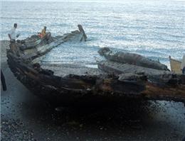 سه کشتی تاریخی در سواحل گیلان شناسایی شد