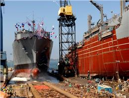 تحویل کشتی در جهان کاهش یافت