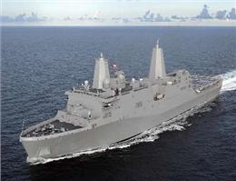 کشتی جنگی آمریکا وارد خلیج فارس شد