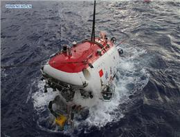 آغاز بکار اولین زیر دریایی اکتشافی چین