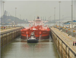 First Suezmax oil tanker begins transit through expanded Panama Canal
