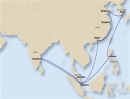 راه اندازی خط جدید در آسیا از سوی سنگاپور