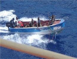 حملۀ دزدان دریایی به شناور کانتینری مرسک خنثی شد