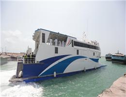 خط دریایی چابهار ـ مسقط میزبان مسافران محلی چابهار و عمان