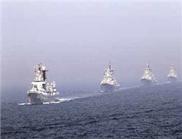 ژاپن مانور نظامی دریایی برگزار می کند