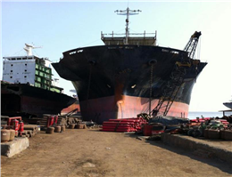 Containership scrap age has crashed