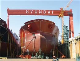 کشتی سازی هیوندای با ضرر مواجه شد