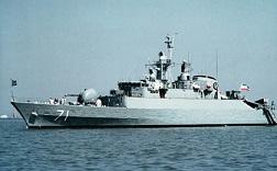 ناو گروه نیروی دریایی ارتش در کراچی پهلو گرفت