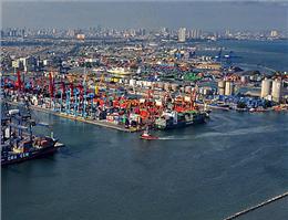 راهاندازی نخستین خط کشتیرانی بینالمللی در بندر اندونزی