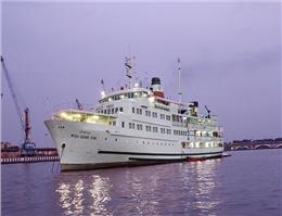 کشتی میرزاکوچک خان در انزلی آغاز به کار کرد