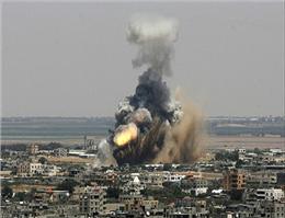 شهادت 4 فلسطینی به دست نیروی دریایی اسرائیل