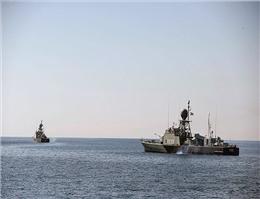 بازگشت ناوگروه نیروی دریایی ارتش به کشور
