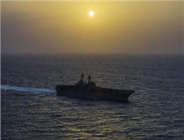 کشتی آمریکایی راهی خلیج فارس شد