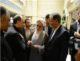 گزارش تصویری همدردی مقامات کشوری و لشگری در مراسم ترحیم پدر مدیرعامل کشتیرانی جمهوری اسلامی