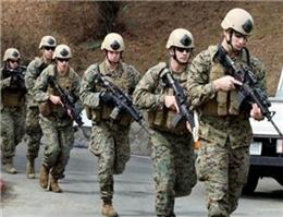 استقرار تفنگداران دریایی آمریکا در رومانی