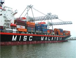افزایش 62 درصدی درآمد کشتیرانی مالزی
