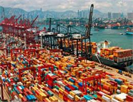 افزایش جابجایی بار در بندر چین
