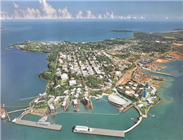 Chinese company Landbridge to operate Darwin port under $506m 99-year lease deal