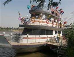 خدمات دهی کشتی سوزیانا به 10هزار میهمان نوروزی