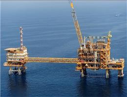 نخستین سکوی فاز 14 پارس جنوبی در خلیج فارس نصب شد