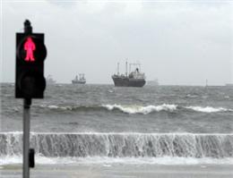 خلیج فارس مواج و طوفانی می شود