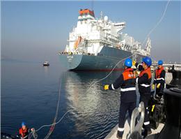 دومین شناور LNG ترکیه به آب انداخته شد