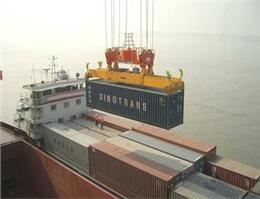 کشتی کانتینری با قایق صیادی در چین برخورد کرد