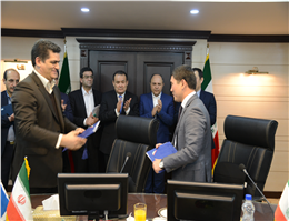 IRISL and KTZ Mark a Historical Meritorious Event in Bilateral Ties between Tehran and Astana