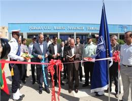 گزارش تصویری  افتتاح رسمی خط دریایی خرمشهر - بصره در ترمینال مسافری خلیج فارس