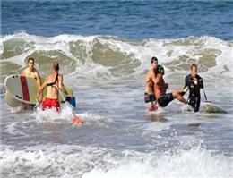 حمله كوسه در سواحل جنوبی كالیفرنیا