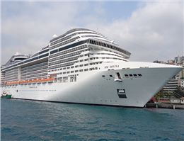 Seabourn Encore Collides with Berthed Vessel