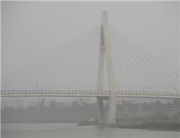 طوفان گرد و خاک سواحل جنوبی خوزستان را درنوردید