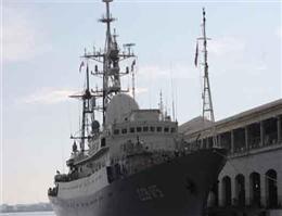 ورود کشتی جاسوسی فرانسه به دریای سیاه