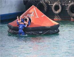 آموزش ارتقاء ایمنی مسافرت های دریایی در هرمزگان