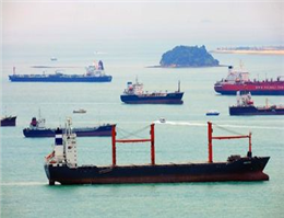 Freighter sank in Singapore Strait after collision with chemical tanker