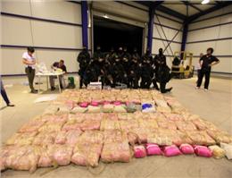 کشف بزرگترین قاچاق هروئین در یونان