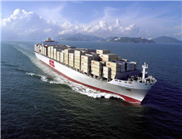 OOCL Sees Rise in Volumes, Revenues