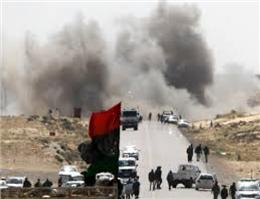 درگیری ارتش لیبی با شورشیان مستقر در بنادر نفتی