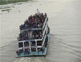 برخورد دو کشتی در بنگلادش